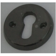 Round Key Hole - Black Nickel Finish