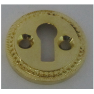 Round Key Holes - Gold Finish