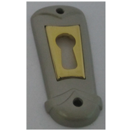 Key Hole - Silver/Gold Finish