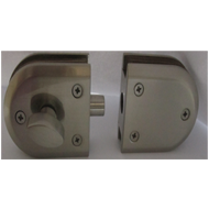 Double Door No Bore Hole Lock With Knob