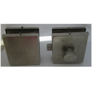Square Double Door No Bore Hole Lock Wi
