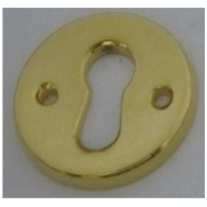 Round Key Hole - Gold Finish