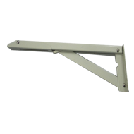 Folding Bracket - 15 Inch - Ivory Colou