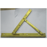 Friction Flap Stay - 12 Inch - Gold Fin