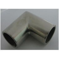 Pipe Connector - 90 Degree - 25mm - SS