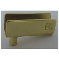 Box Pivot - 2 InchX8mm - Gold Finish