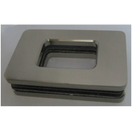 Sliding Flush Handle For 10mm or 12mm G