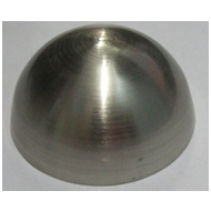 Round Mirror Caps Screw  - 40mm - SS Fi