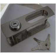 Sliding Handle with Lock - SS Finish