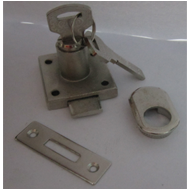 Furniture Dimple Key Lock - 20mm - SS F
