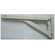 Folding Bracket - 12 Inch - Ivory Colou
