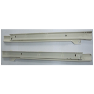 Bottom Drawer Channel - 18 Inch - Ivory Colour