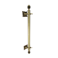 Door Pull Handle - 600mm - Bl