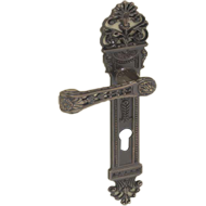 Giuseppina Door Lever Handle on Plate -