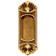Flush Handle - Polished Brass Finish