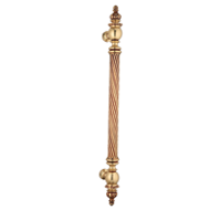 Door Pull Handle - 500mm - Gold Plated