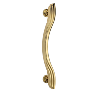 Door Pull Handle - 320mm - Gold Plated