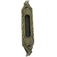 Flush Pull Handle - Patine Matt Finish