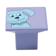 Doggy Design Blue Cabinet Knob