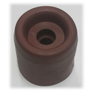 Rubber Door Buffer - Maroon Colour