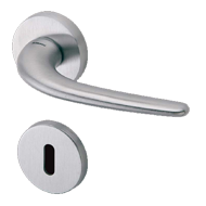 Lever Handle - Chrome/Satin Nickel - 2694
