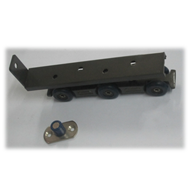 Sliding Door Fitting - Graphite Finish