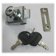 Single Glass Lock With Common Key - 10m