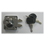 Sliding Cupboard Lock - 20mm - CP Finis