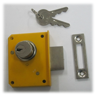 Wardrobe Lock - 18mm - SS Finish
