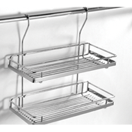 Hanging Double Shelves - 457X165X330mm