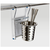 Spoon Holder (Perforated) - 135X135X270mm