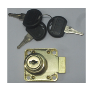 Multipurpose Lock - 22mm - Gold Finish