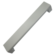 Glass Door Pull Handle - 300mm - White