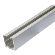 Silver Anodized Profile 65X65mm - Lengt