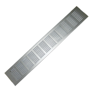 Ventilation Grill - 480mm - Aluminium Finish