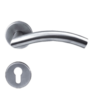 TUBE Lever Handle in Bright Chrome Finish