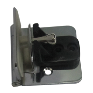 Glass Hinge - 8mm - CP Finish