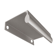 Profile Handle Section - Aluminium Fini
