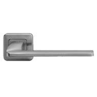ZENITH Lever Handle on Rose in Polished