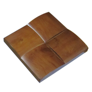 Glass Door Wood Knob - 180mm x 180mm