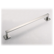 Square Towel Rod - 600mm - SS Finish