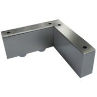 Sofa Leg L Type - SS Finish
