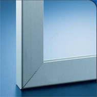 Aluminium Profile - Patine Natural Steel Finish - Length 2500mm
