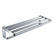 Double Towel Rack - 600mm - Chrome Finish - SPANISH SERIES