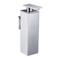 Square Liquid Soap Dispenser - Chrome Finish - SPANISH SERIES