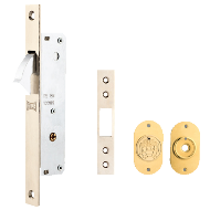 Sliding Door Lock - Antique Finish