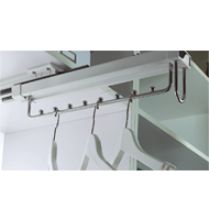 Soft Closing Top-Install Hanging Rack -