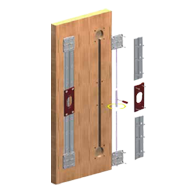 Door Straightening Fitting - Pull & Tension Mechanism