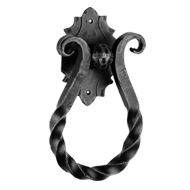 Door Knocker - 135mm - Strong Black Col