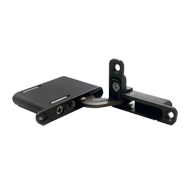 Recessed hinge for swing door